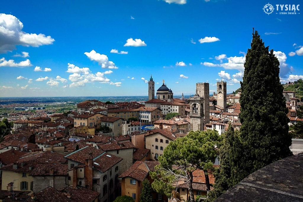 Citta Alta w Bergamo