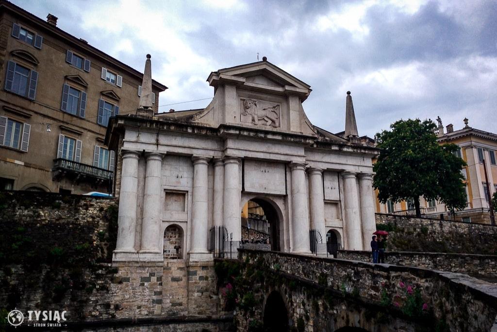 Porta San Giacomo w Bergamo