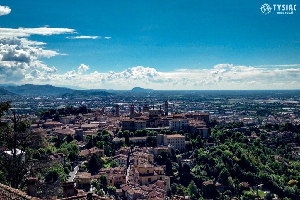 Wzgórze San Vigilio w Bergamo