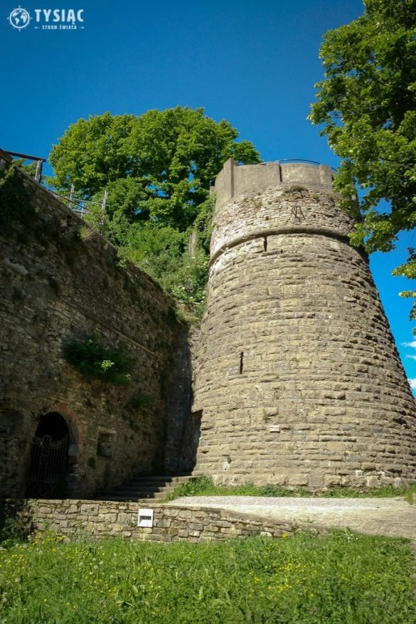 Zamek na wzgórzu San Vigilio