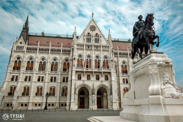 Budapeszt atrakcje - parlament