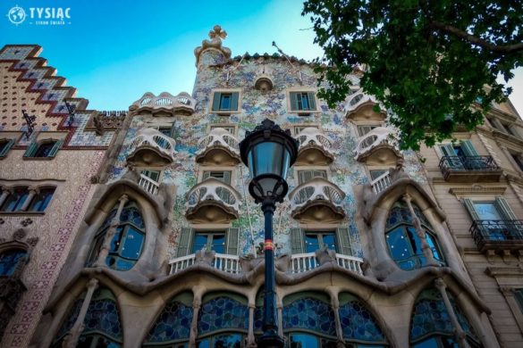 City break Barcelona Gaudi