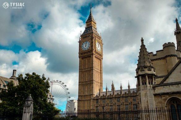 Big Ben i London Eye