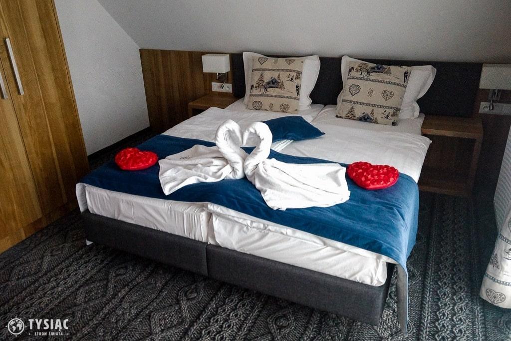Hotel Górski sypialnia