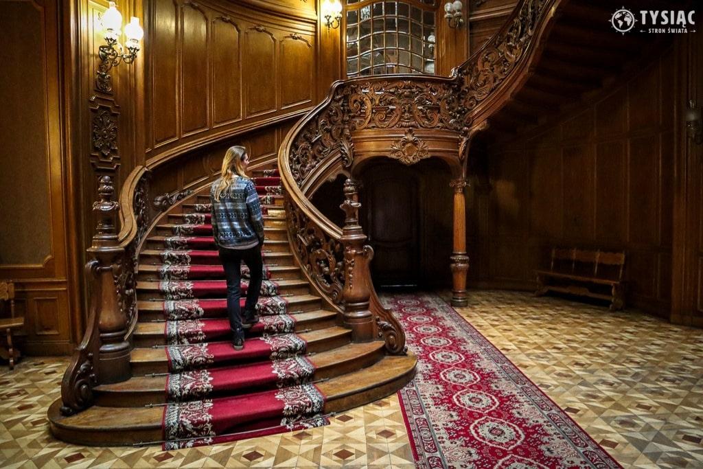 Słynne schody we Lwowie