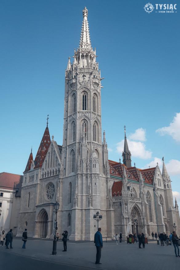 Budapeszt atrakcje - Kościół Macieja