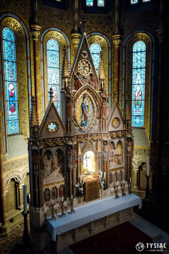 Kościół Macieja - wnętrze