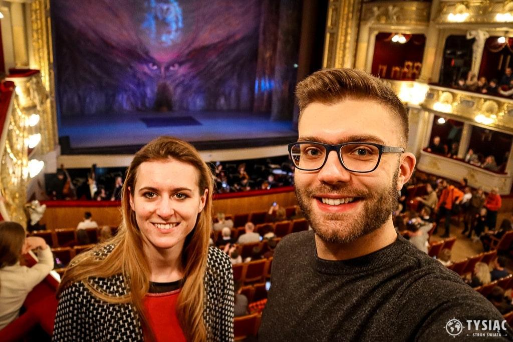 Spektakl w Operze Lwowskiej