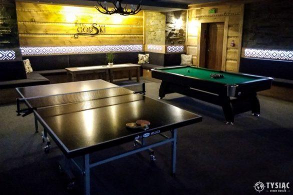 Sala rekreacyjna w Hotelu Górskim