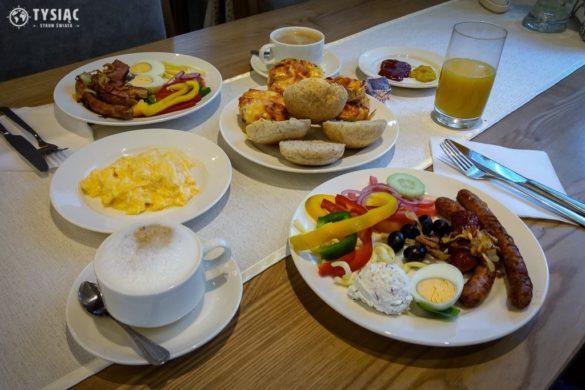 Hotel Górski śniadanie