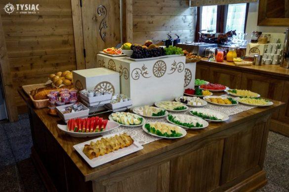 Szwedzki stół w hotelu