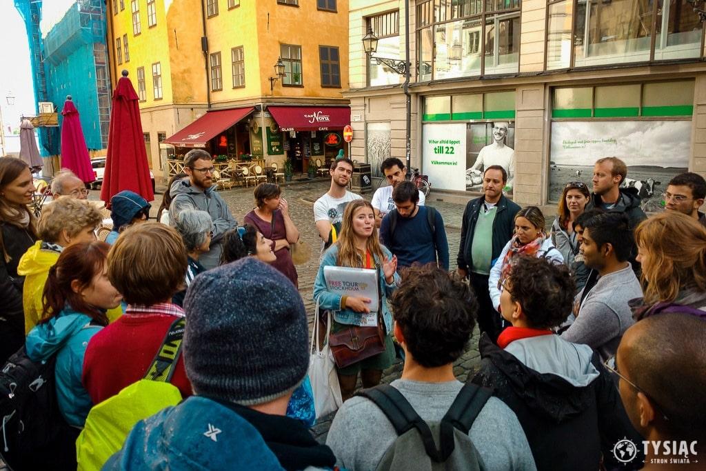 Free Walking Tour Sztokholm