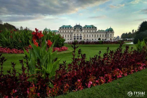 Belweder ogród i pałac