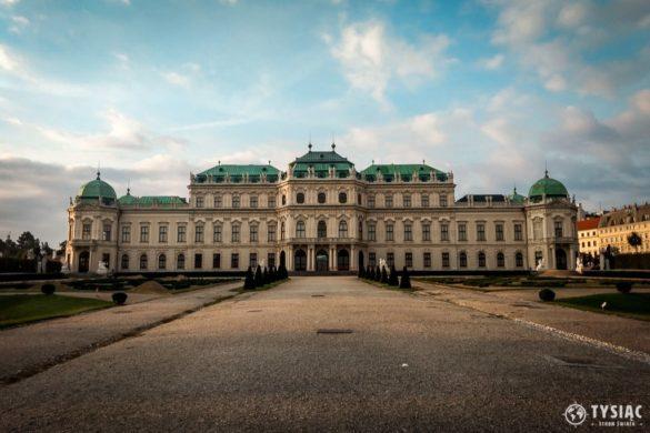 Atrakcje Wiednia - Belweder