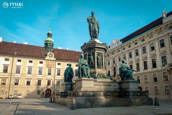 Dziedziniec pałacu Hofburg