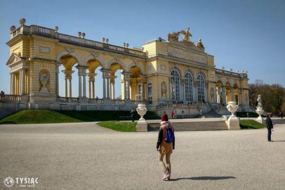 Glorieta w Schonbrunn