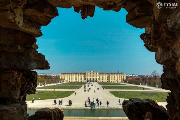 Widok na Pałac Schonbrunn