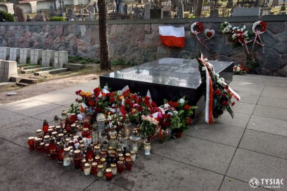 Cmentarz na Rossie - serce Piłsudskiego