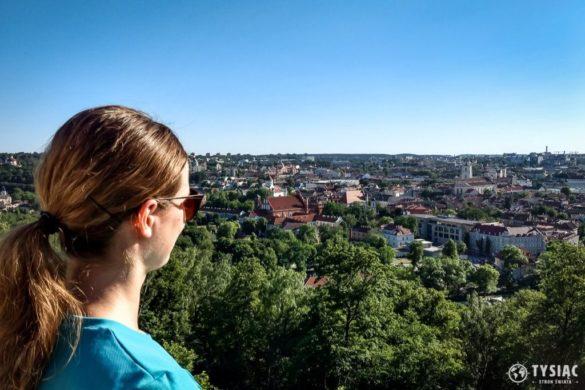 Wilno punkt widokowy Góra Trzykrzyska
