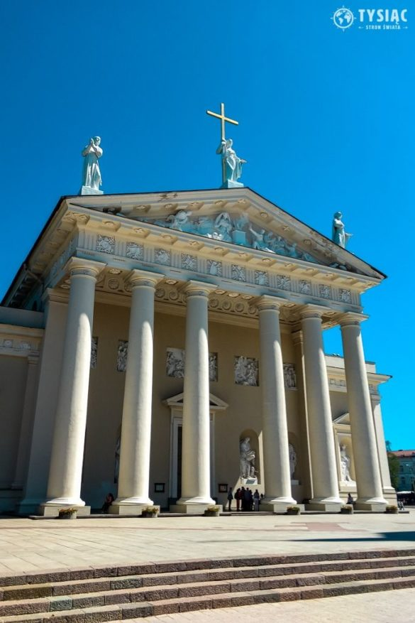Wilno atrakcje - katedra