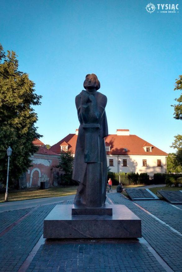 Wilno atrakcje - pomnik Mickiewicza