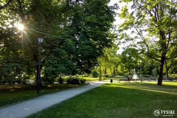 Wilno atrakcje - Ogród Bernardyński