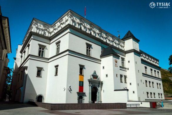 Wilno atrakcje - Zamek Dolny
