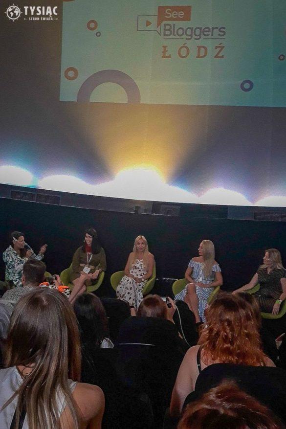 Panel dyskusyjny na See Bloggers