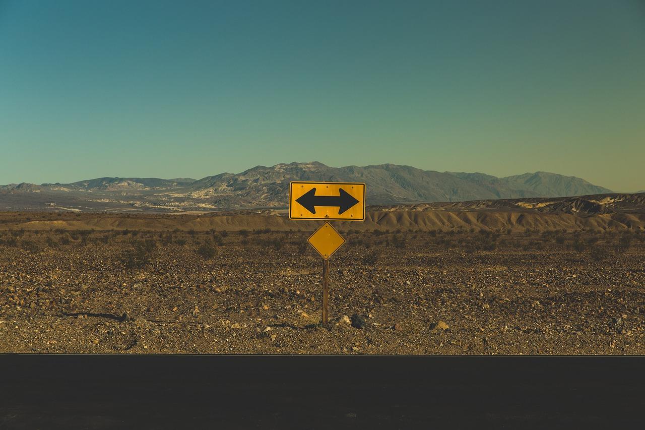 USA znak drogowy