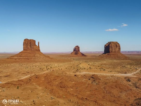 droga w monument valley