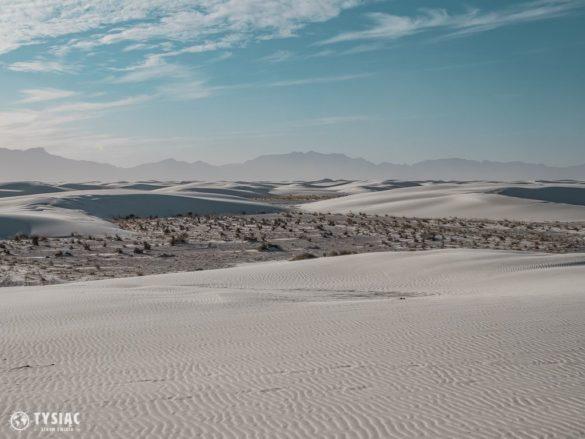 białe piaski wydmy