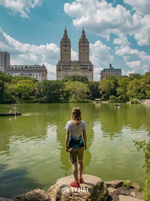 Central Park, Nowy Jork - zwiedzanie latem