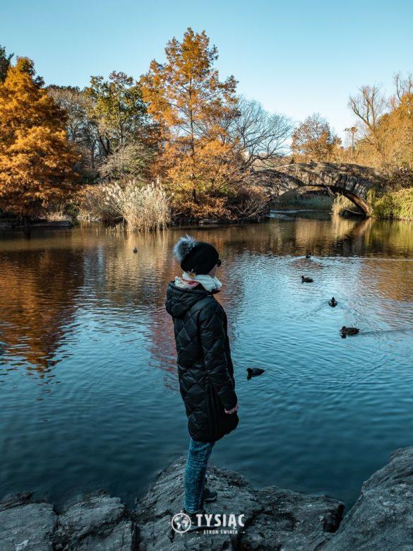 Central Park, Nowy Jork - zwiedzanie jesienią