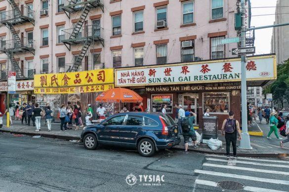 Chinatown - Nowy Jork - zwiedzanie