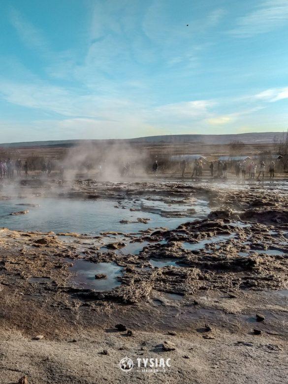 Pole geotermalne na Islandii