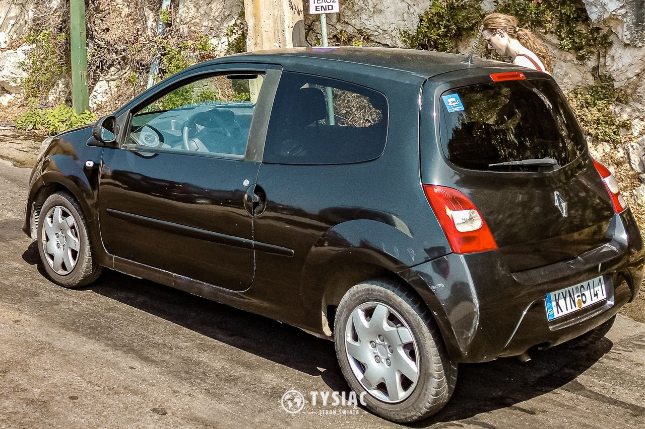 Wynajęty samochód na Korfu