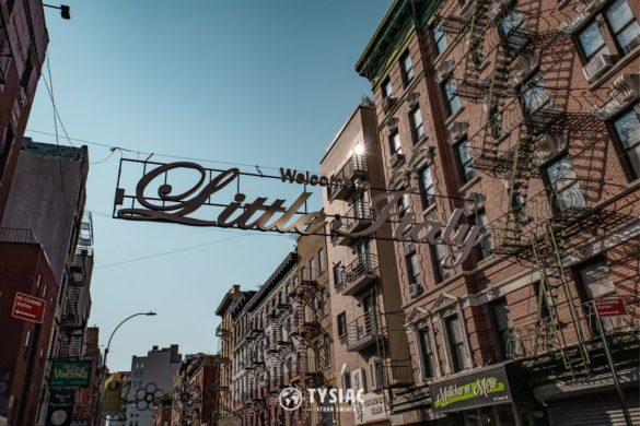 Dzielnica Little Italy w Nowym Jorku