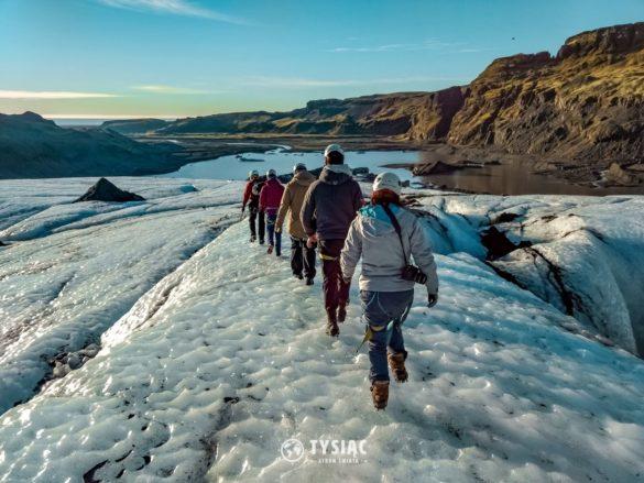 Zwiedzanie Islandii - lodowiec