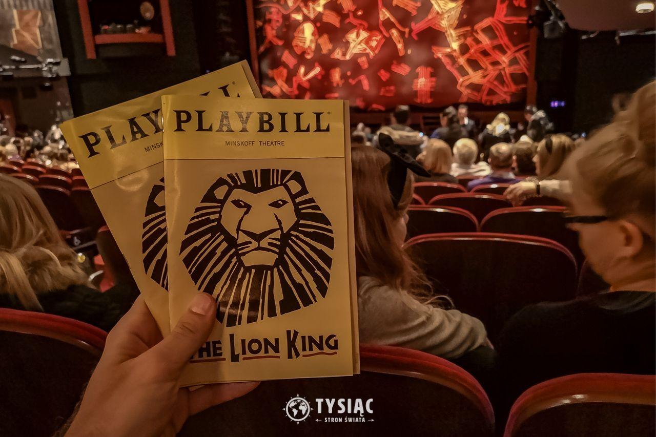 Musical na Broadwayu - Król Lew