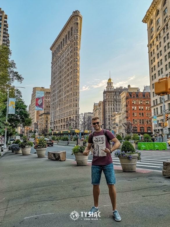 Nowy Jork - zwiedzanie - Flatiron