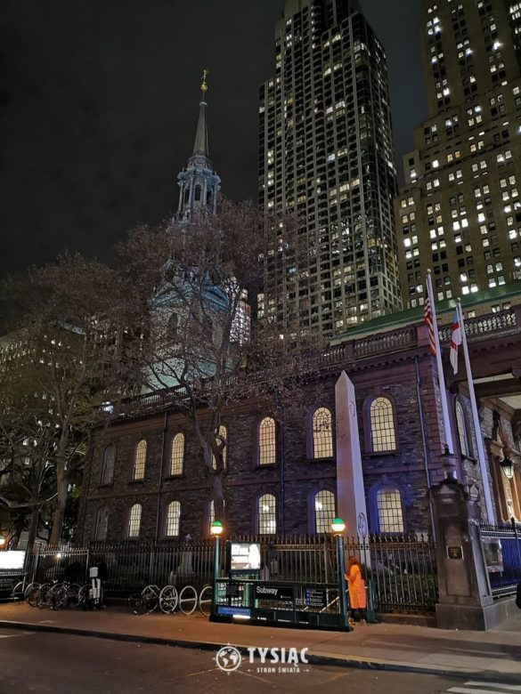 Kaplica św. Pawła w Nowym Jorku