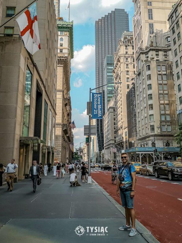 Nowy Jork - Zwiedzanie Piątej Alei