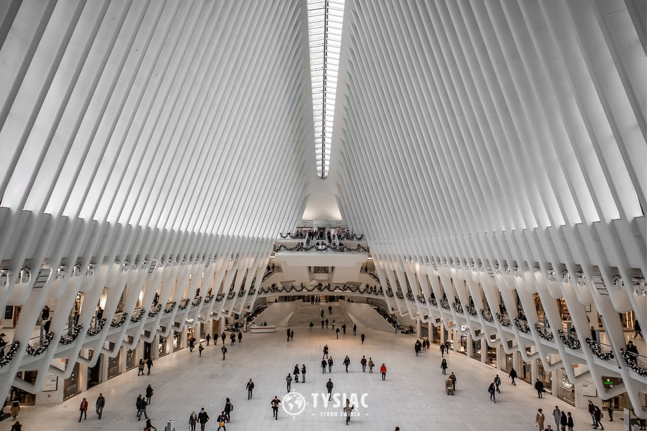 Stacja Oculus - Nowy Jork - zwiedzanie