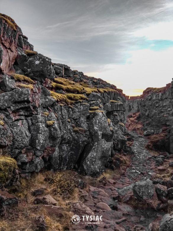 Islandia - Park Narodowy Thingvellir