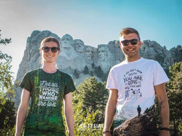 Power Canvas przy Mount Rushmore