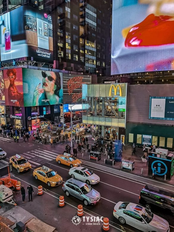 Nowy Jork - Times Square