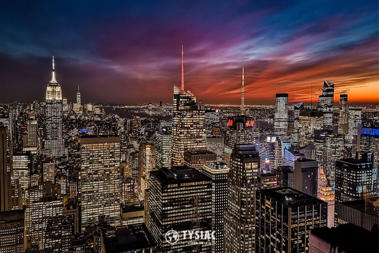 Nowy Jork - zwiedzanie - Top of The Rock