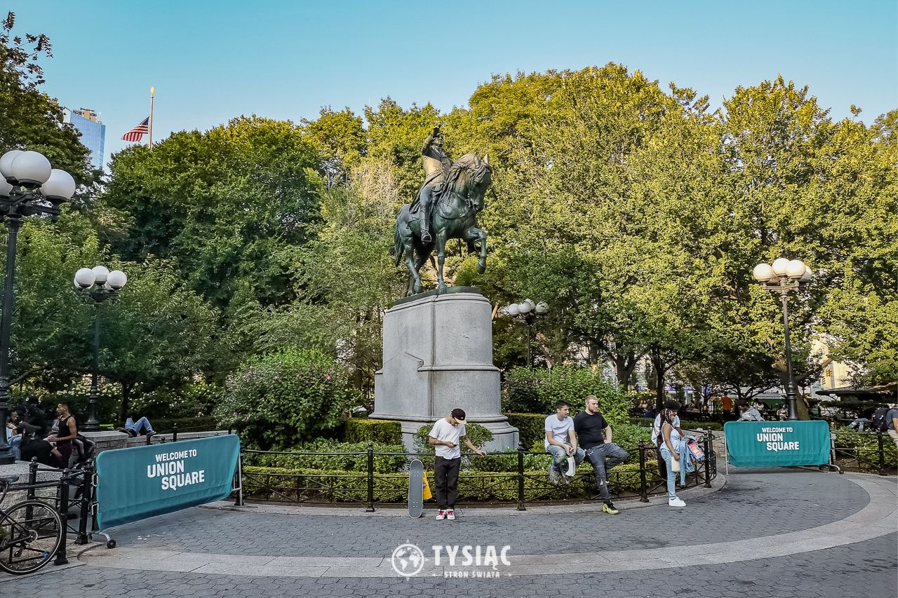 Union Square - Nowy Jork - zwiedzanie