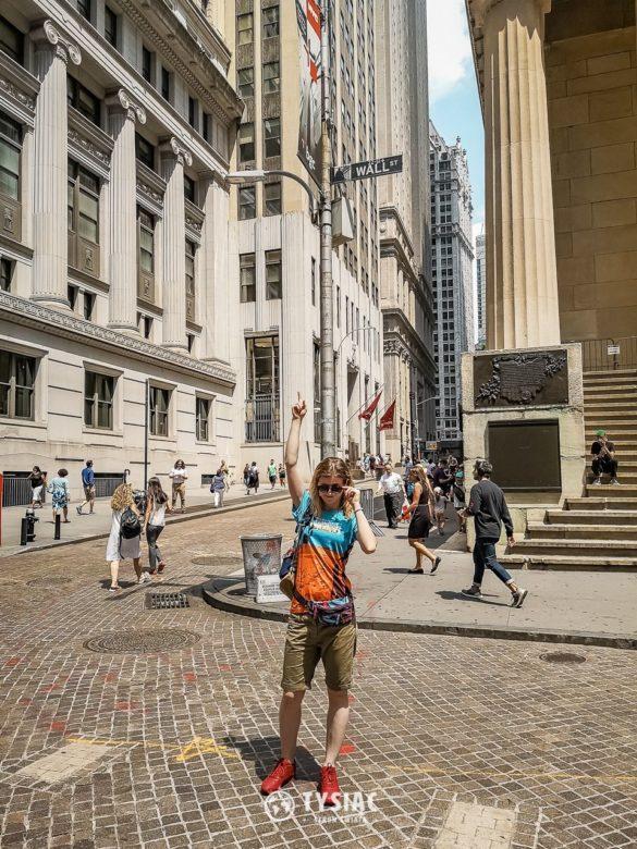 Nowy Jork - zwiedzanie - Wall Street