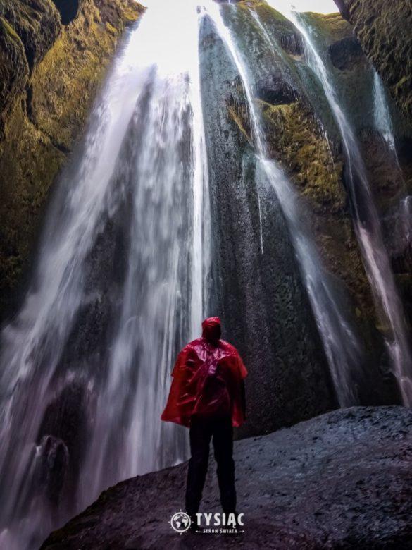 Islandia - ukryty wodospad Gljufrabui